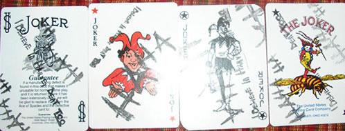 Cartas de Poker para la camapaña publicitaria de The Dark Knight
